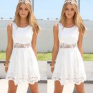 Fashion Summer Lace Casual Sleeveless Party Evening Cocktail Short Mini Dress FT