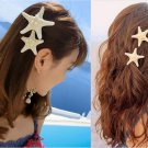 Cute Unique Sea Star Womens Girls Elegant BEAUTY Starfish Hairpin Hair Clip F198