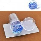 Fashion DIY Nail Art Stamping Stamper Scraper Plate Transfer Manicure Tool FT89