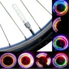 2x 5 LED Cool Flash Light Bicycle Motorcycle Car Bike Tyre Tire Wheel Valve Lamp