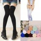 Soft Warm Over The Knee Thigh High Socks Stockings Leggings Women Ladies Girls