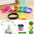 Anti Mosquito Pest Insect Bugs Repellent Wristband Wrist Band Bracelet 1PCS FT