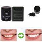 Carbon 100% Organic Charcoal Teeth Whitening Powder Natural Tooth Polish 45G FT