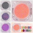 1box 3D Mixed Candy Sugar Nail Glitter Powder Nail Art Manicure Decoration Tips