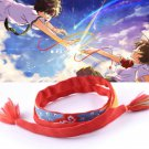 Cosplay movie Kimi no Na wa Your Name Miyamizu Mitsuha Bracelet Jewelry Gift TR