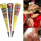 New Brown Natural Herbal Henna Cones Temporary Tattoo Body Art Paint Mehandi ink