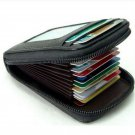 New Mens/Womens Mini Leather Wallet ID Credit Cards Holder Organizer Purse FT58