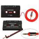 New For iPod iPhone MP3 AUX CD Player 3.5mm Cassette Car Stereo Tape Adapter