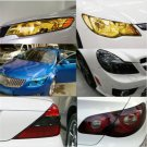 1PC Auto Car Smoke Fog Light Headlight Taillight Tint Vinyl Film Sheet Sticker F