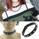 Gothic Punk Women's Leather Choker Chain Spike Rivet Buckle Collar Necklace Gift