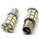 12V LED 1157 White BAY15D P21/5W 27SMD 5050 Car Tail Brake Light Bulb Lamp 2PCS