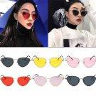 Charm Women Cat Eye Sunglasses Oversized Style Gradient Lens Oval Frame