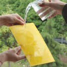 1X Outdoor Yellow Sticky Glue Flying Pest Insect Papers Traps Catchers Bugs FT
