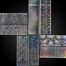 16Pcs/SET Laser Holo Starry Sky Nail Foil Nail Art Transfer Sticker Manicure NEW