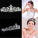 Fashion Bridal Princess Stunning Crystal Hair Tiara Wedding Crown Headband FT