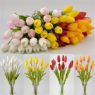 Fashion Tulip Artificial Flower Real Touch Bridal Wedding Bouquet Home Decor FT8