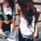 Charm Women Summer Vest Top Sleeveless Casual Shirt Tops Blouse Tank T-shirt