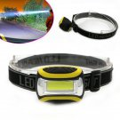 3 Modes Super Bright Waterproof COB LED Headlamp AAA Flashlight Outdoor Light FT