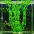 "13"" New Green Artificial Plastic Plant Grass Fish Tank Aquarium Ornament Decor"