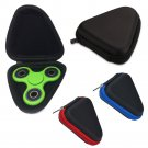 1pcs For Fidget Hand Spinner Triangle Finger Toy Focus ADHD Autism Bag Case Box