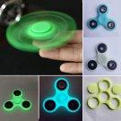 1set Glow In The Dark BLUE Tri Frame Caps For Finger Fingertip Hand Spinner FT