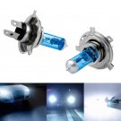 2PC 12V Car Auto H4 HID Xenon Super White Headlight 100W Halogen Bulb Lamp Light