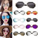 Fashion Women's Men's Metal Frame Mirrored Sunglasses Outdoor Eyewear Glasses