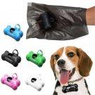 """12"""" 50 Rolls Dogs portable waste Bags clean case Handing Rubbish Trash Carries"""
