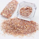 3g Mixed Rose Gold Nail Art Glitter Powder Dust Acrylic UV Gel Tips Decoration F