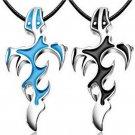Unisex's Men Punk Retro Stainless Steel Cool Cross Pendant Necklace Gift FT67