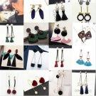 1Pair Elegant Women Tassel Rhinestone Ear Stud Drop Dangle Fashion Earrings Gift
