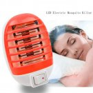 US Plug Fly Pest Bug Insect Trap Zapper Killer Night Lamp LED Electric Mosquito