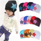 Soft Unisex Baby Boy Girl Kid Toddler Infant Children Cotton Cap Star Beanie Hat