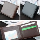 Cool Men Business Leather Wallet Pocket Card Holder Clutch Bifold Slim Purse FT6