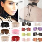 Various Gothic Cool Women Lace Up Punk Choker Vintage Velvet Necklace Jewelry FT
