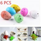Fun 6X Magic Growing Dino Eggs Hatching Dinosaur Add Water Inflatable Kid Toy FT