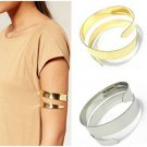 Retro Egypt Cleopatra Swirl Snake Upper Arm Cuff Armlet Armband Bangle Bracelet