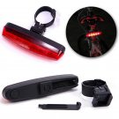 Cool Cycling Night Bright Red 5 LED Rear Tail Light Bike Bicycle 4 Modes Lamp FT