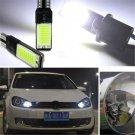 2PCS 6W LED T10 W5W 194 168 No Error COB Canbus Side Lamp Wedge Light Bulb White