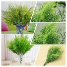 7 Branches Artificial Asparagus Fern Grass Green Plant Flower Home Floral Decor