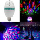 Fun Rotating Disco KTV Bar DJ Club Stage Lighting LED RGB Crystal Ball Light FT7