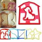 DIY Fun Kids Sandwich Toast Cookies Cake Bread Biscuit Food Cutter Mold Mould
