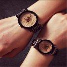 Cool Luxury Men Women Watch Compass Stainless Steel Quartz Analog Wrist Watch FT