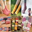 Soft Unisex Casual Cotton Socks Design Multi-Color Dress Mens Women's Socks FT29