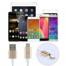for Samsung Android LG 2.4 A Micro USB Charging Cable Magnetic Adapter Charger F