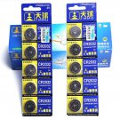 Cool 5PCS CR2032 DL2032 LM2032 3V Button Cell Coin Battery for Watch Toys Remote