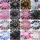 3D DIY Nail Art Rhinestones Glitters Acrylic Tips Decoration Manicure Wheel Hot