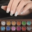 3g DIY Nail Art Glitter Powder Holographic Laser Sequins Pigment Manicure New FT