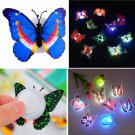 LED Colorful Changing Butterfly Night Light Lamp Home Room Party Desk Wall Decor