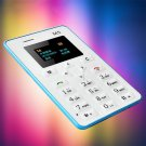 Ultra Thin Card Mobile Phone Ultra Thin Pocket Mini Phones Low Radiation GSM FT